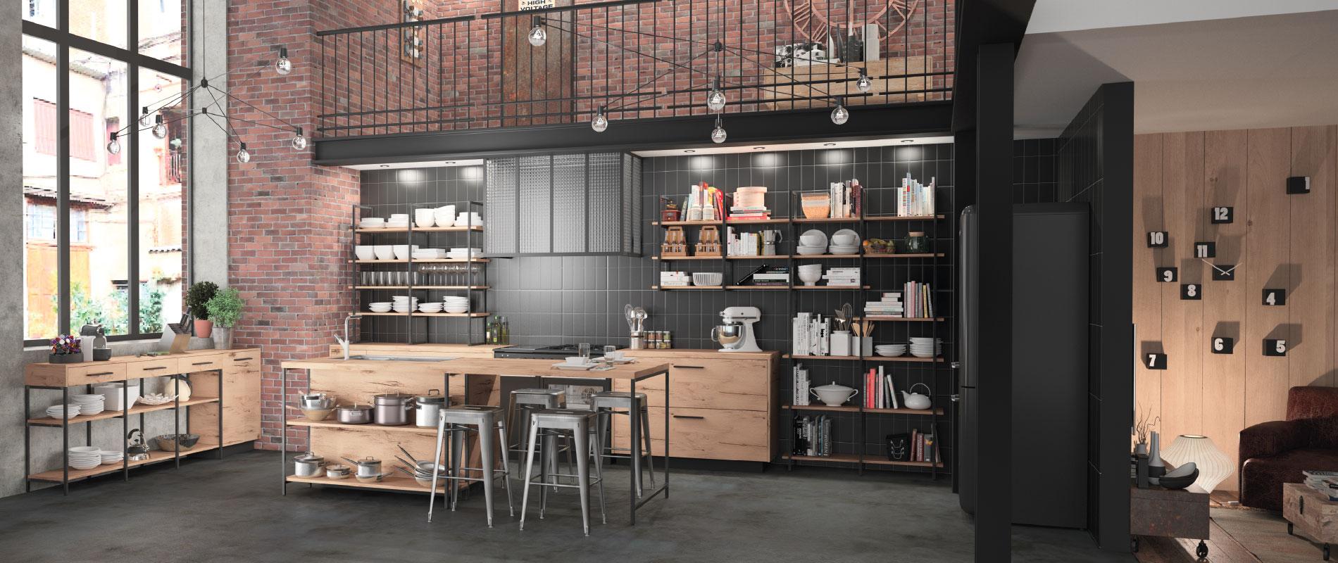 dineries cuisines et bain entreprise cr en 1980 m. Black Bedroom Furniture Sets. Home Design Ideas